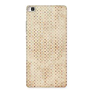 Neo World Polka Design Back Case Cover for Huawei P8