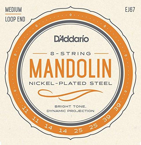 D\'Addario EJ67 Mandoline Saiten Satz Nickel