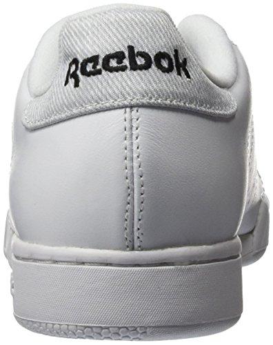 Reebok Npc Rad Pop, Baskets Basses Mixte Adulte Blanc (White/Black)