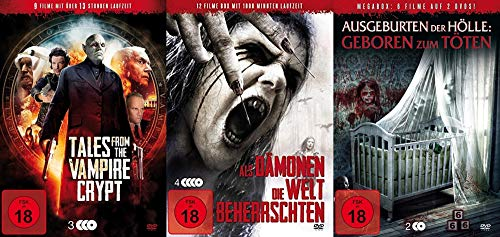 30 Horrorfilme - Halloween Collection - Vampire + Dämonen + Ausgeburten der Hölle DVD Edition -
