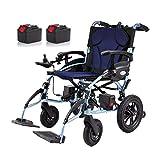 MLNRDDLY Modello Standard per Sedia a rotelle Pieghevole a Peso Leggero - ausilio per la Mobilità Personale