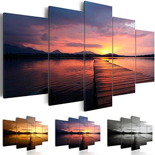 impression-sur-toile-200x100-cm-3-couleurs-au-choix-5-pieces-image-sur-toile-images-photo-tableau-mo