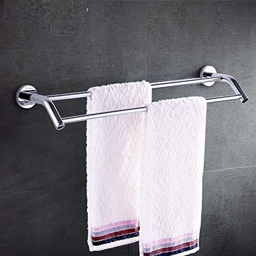 Handtuchstange Kupfer Wandmontage zweipolig Badzubehör 70cm Handtuch hängen - Sie Edelstahl Unten Nach Biegen