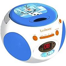 Frozen - Reproductor de CD, color blanco / azul (Lexibook RCD102OL)