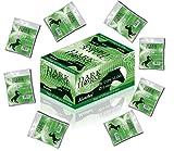 40 x 120 stück MENTHOL Drehfilter 6mm Slimfilter Slim Zigarettenfilter von Dark Horse Aroma versiegelt in Folie für frischen Menthol Rauchgenuss