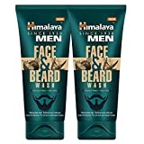 #7: Himalaya Men Face and Beard Wash, 80ml (Pack of 2)