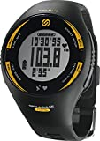 Soleus GPS Pulse Heart Rate Activity Calorie Monitor Watch - Black/Yellow SGO008-020
