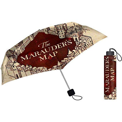 Paraguas de Harry Potter - Mapa del Merodeador