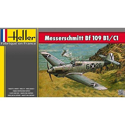 Heller 80236 - Modellbausatz Messerschmitt BF 109/B1 C1
