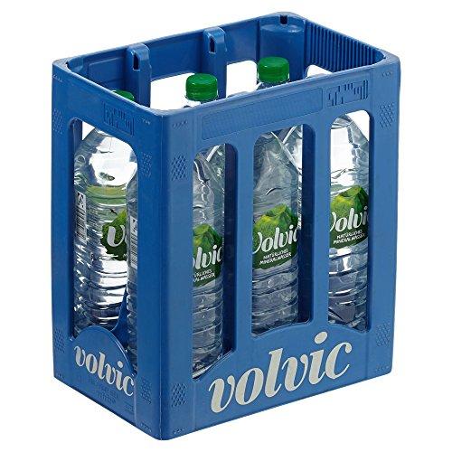 Volvic Natürliches Mineralwasser (6 x 1.5 l) Test