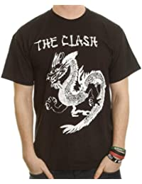 T-Shirt The Clash Noir China Rocks XL (T-Shirt taille Extra Large)