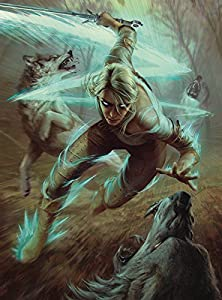 Dark Horse Comics Ciri y los Lobos Puzzle The Witcher, Multicolor (JUN180386)