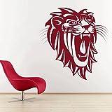 DreamKraft Lion King Face Wall Sticker For Kids Room |Living Room|Bedroom|Office PVC Vinyl Art Decals(19X19 Inch)