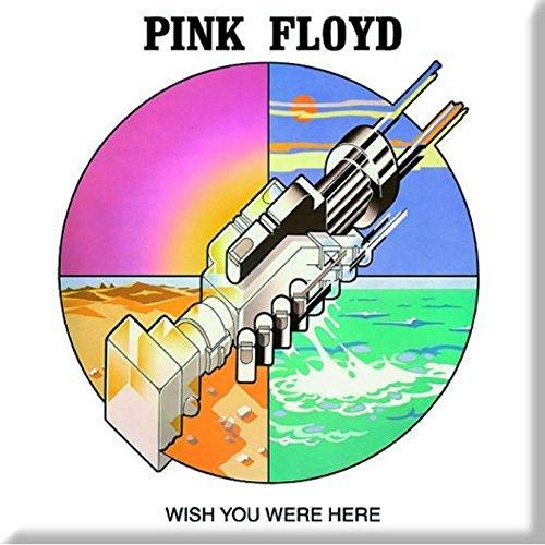 Pink Floyd - Metall Magnet - Wish you were here (Kühlschrank Vinyl Cover)