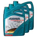 3X Addinol Motoröl Motorenöl Motor Motoren Motor Oil Engine Oil 2-Takt Super Mix Mz 405 (Rot Gefärbt) 5L