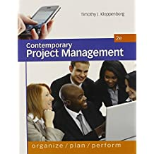 Contemporary Project Management-Text