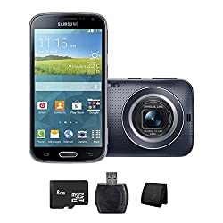 Samsung Galaxy K Zoom Unlocked Gsm Quad-core Camera Android Smartphone -Black-(imported)