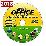 Libre OFFICE 2018 PREMIUM für MAC OSX Schreibprogramm [auf DVD Datenträger] ORIGINAL von STILTEC ©