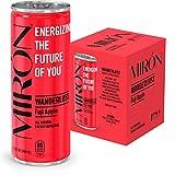 Mirón Fuji Apfel natürlicher Energy Drink mit Kohlensäure 8.4 Fl.Oz. Dosen (0.25 L) (4er Pack)