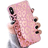 LAPOPNUT Coque iPhone XR Silicone en Gel TPU Souple Léopard Cute Animal Imprimé...