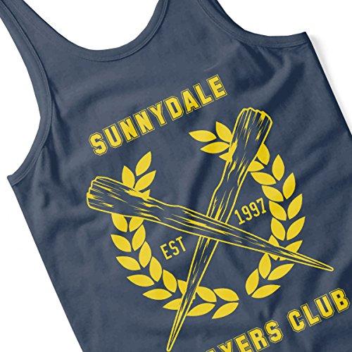 Sunnydale Slayers Club Buffy Women's Vest Navy Blue