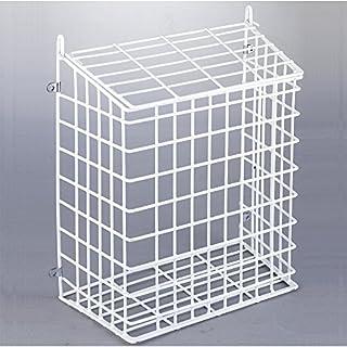 Weiß interne Briefkasten Käfig und Mail- Fänger beschichtet Große (285 X 352 X 151 mm)