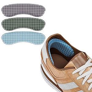 Fersenpolster Fersenkissen Fersenschutz – Zu Große Schuhe Schaumstoff-Set 10 x – Bequeme Geleinlagen für Volumen Damen