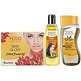 VLCC Ayurveda Intense Nourishing Shampoo,100ml, Ayurveda Hair Oil,120ml And Facial Kit Combo
