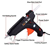 #8: ZeoTecDeals Leak Proof 100 Watt With 5 Sticks Heavy Standard Temperature Corded Glue Gun (11 mm) Standard Temperature Corded Glue Gun