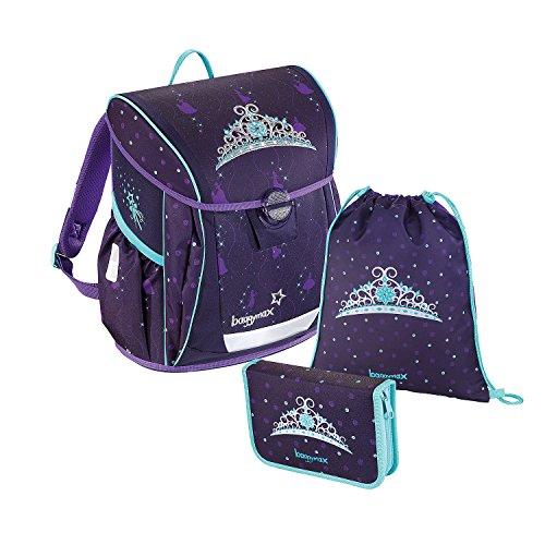baggymax® 139039 Fabby Schulranzenset Crown