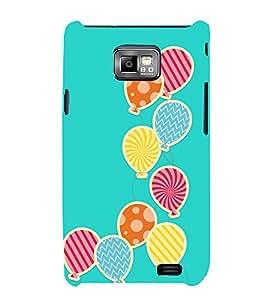 Bubble Design 3D Hard Polycarbonate Designer Back Case Cover for Samsung Galaxy S2 :: Samsung Galaxy S2 i9100