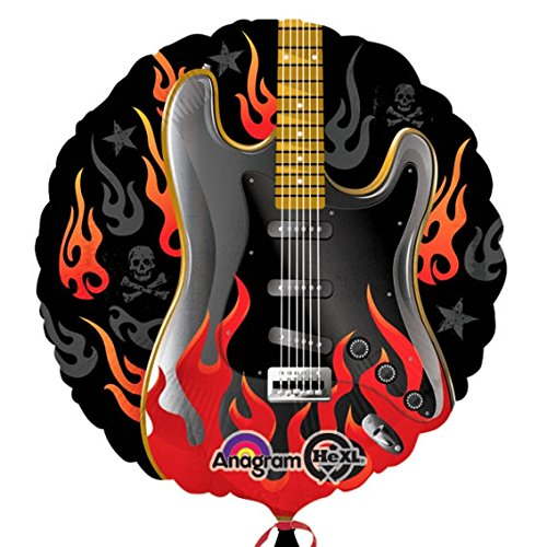 Amscan Rockstar Rock On Standard HX Folie Ballons