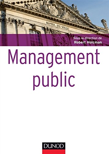 Management public par Robert Holcman