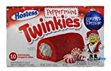 Hostess Peppermint Twinkies - 10 Pack - Limites Edition Christmas Twinkies - 385g …