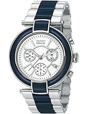 Esprit Collection Damen-Armbanduhr Physis Chronograph Quarz Keramik EL101582F03