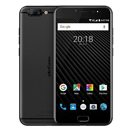 Global version, Ulefone T1sbloccato smartphone 6Gb + 64GB anteriore posteriore identificazione delle impronte digitali Dual telecamere 14cm Android 7.0MTK Helio P25Octa Core 64-bit fino a 2.6Ghz Support OTG, 4G network, Dual SIM