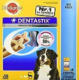Pedigree DentaStix Hundesnack für große Hunde (25kg+), Zahnpflege-Snack mit Huhn und Rind, 1 Packung je 56 Stück (1 x 2.16 kg) - 4