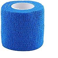 5x Elastische Bandage selbsthaftende Bandage für Sport Outdoor 4,5mx5cm