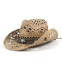 SCSY-Sombrero Sombrero de Fedora de Moda para Mujeres Caballero Elegante Lady Cloche Wide Brim Jazz (Color : Black, Size : 56-58CM)