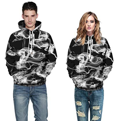 Halloween-Thema Mode Gedruckt Hoodies Frauen/Männer Langarm Mit Kapuze Sweatshirts 2019 Heißer Casual Trendy Streetwear - Heißes Thema Kostüm Hoodie