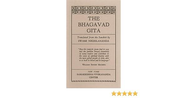 16530810a1c Buy Bhagavad-gita Book Online at Low Prices in India | Bhagavad-gita ...