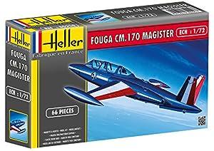 Glow2B Heller 80220 - Fouga Magister CM 170 importado de Alemania