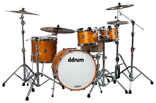 ddrum US STD 422 SA USA Maple Drum Set 4-teilig Satin Amber
