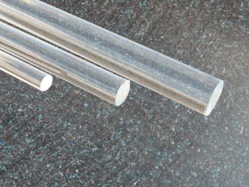 Acrylglas XT, Rundstab klar, Ø 20 mm Lang 500 mm farblos alt-intech®