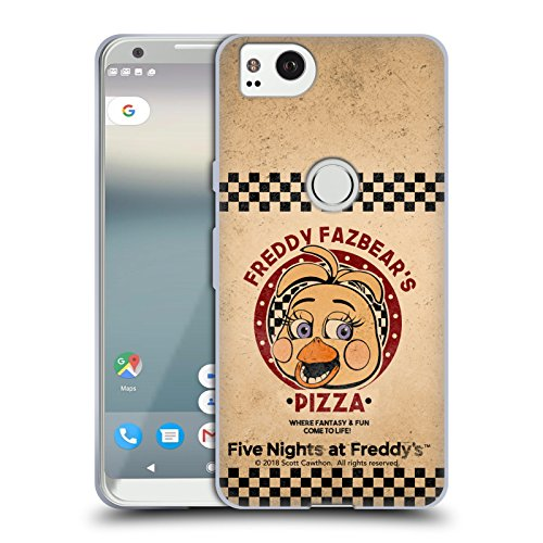 Official Five Nights At Freddy's Toy Chica Freddy Fazbear's Pizza Soft Gel Case for Google Pixel 2