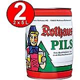 2 x Rothaus Pils 5 L partido de la caja 5,1% en volumen