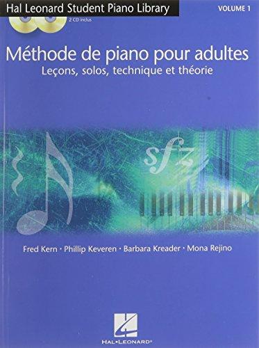 Methode de Piano pour Adultes Volume 1 +...