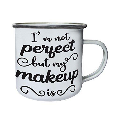 No soy perfecto, pero mi maquillaje es Retro, lata, taza del esmalte 10oz/280ml...