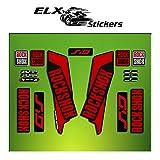 Pegatinas HORQUILLA Rock Shox Sid 2016 ELX36 Stickers Aufkleber AUTOCOLLANT Decals Bicicleta Cycle MTB Bike 26