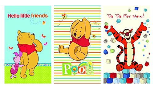 Disney Winnie the Pooh asciugamani, set, 30 x 50 cm